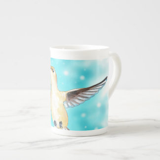 Hummingbird Sky Tea Cup
