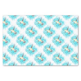 Hummingbird Sky Tissue Paper