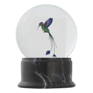 Hummingbird Snow Globe