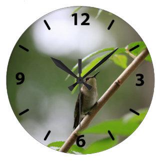 Hummingbird (The Watcher) Large Clock