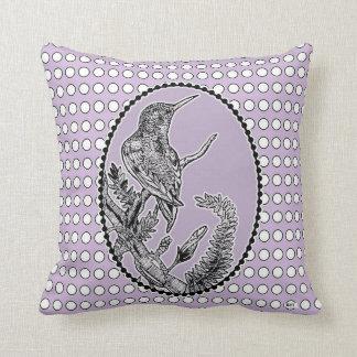 Hummingbird Throw Pillow Perfect for bird-lovers!