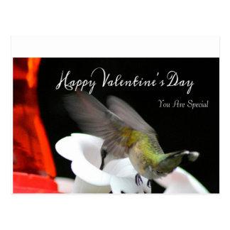 Hummingbird Valentine's Postcard 2