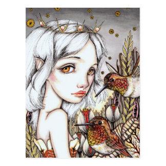 Hummingbird Whisper Postcard