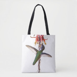 Hummingbird wings tote bag