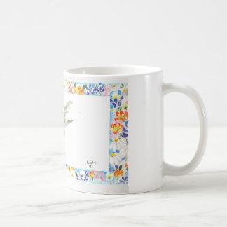 Hummingbird with bluebonnets mug