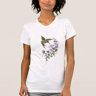 Hummingbird with Flowers 1 Tee