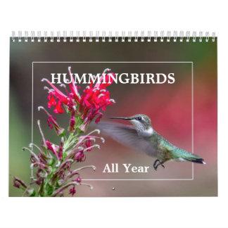 Hummingbirds All Year Calendars