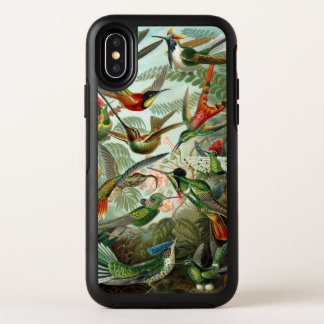 Hummingbirds by Ernst Haeckel, Vintage Birds Trees Case