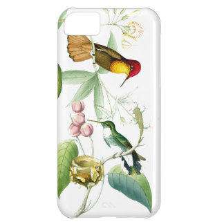 Hummingbirds & Flowers iPhone 5C Case