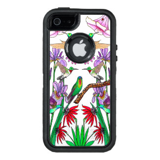 Hummingbirds OtterBox Defender iPhone Case