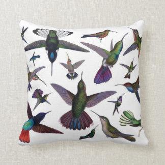 Hummingbirds pillow
