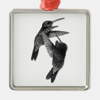 Hummingbirds Premium Ornament