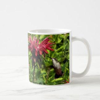 Hummingbirds Red Bee Balm Coffee Mug