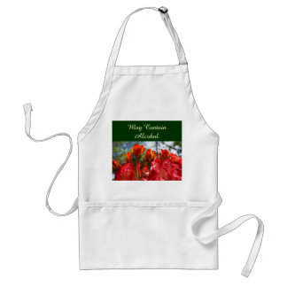 Humor aprons May Contain Alcohol apron Funny Rose