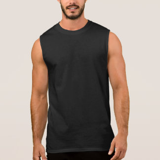 HUMOR COOL GAY BEAR - BEAR HUNTER SLEEVELESS SHIRT