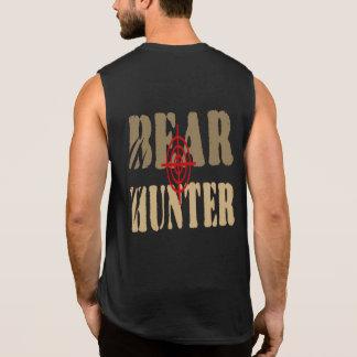 HUMOR COOL GAY BEAR - BEAR HUNTER SLEEVELESS TEES
