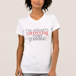 humor: correcting grammar T-Shirt
