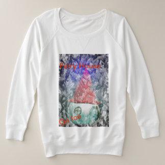 Humor Fairy Home In Ice Wonderland Plus Sweatshirt