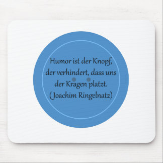 Humor is prevented the button,… mouse pad