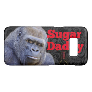 humor joke Funny Sugar Daddy Gorilla Case-Mate Samsung Galaxy S8 Case