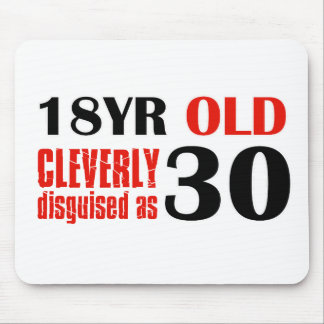 Humorous 30 year old birthday gifts mouse pads