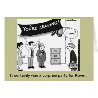 Humorous and original cartoon by Mike Seddon. Card
