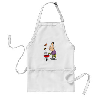 Humorous BBQ Gifts Funny Cookout Barbecue Grilling Standard Apron