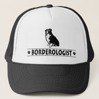 Humorous Border Collie Trucker Hat