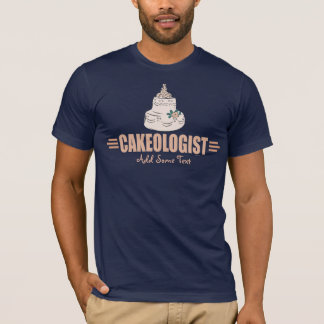Humorous Cake Decorating T-Shirt