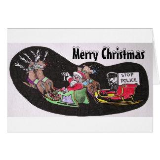 Humorous Christmas Card