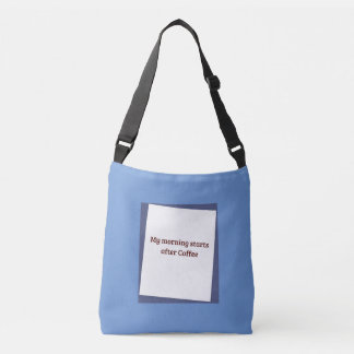 Humorous Coffee Quote Tote Bag