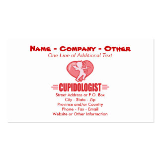 Humorous Cupid Pack Of Standard Business Cards