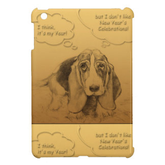 Humorous Dog Year 2018 iPad Mini Covers