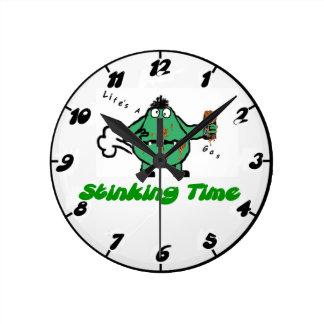 Humorous Farting Clock