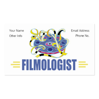 Humorous Film Pack Of Standard Business Cards