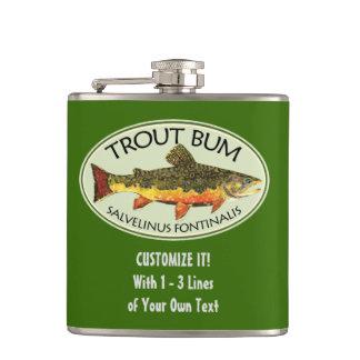 Humorous Fishing Hip Flask