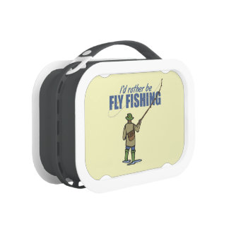 Humorous Fly Fishing Lunch Boxes