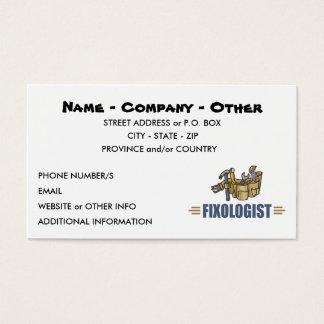 Humorous Handyman Business Card