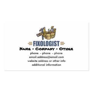 Humorous Handyman Pack Of Standard Business Cards