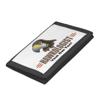 Humorous Hawk Hawks Trifold Wallets