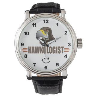 Humorous Hawk Hawks Watch