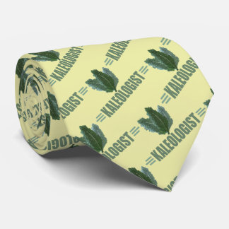 Humorous I Love Kale Tie