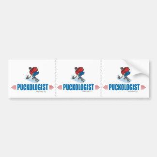 Humorous Ice Hockey Bumper Sticker