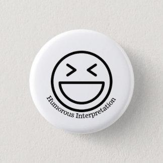 Humorous Interpretation Button