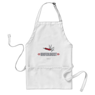 Humorous Knife Collector Standard Apron