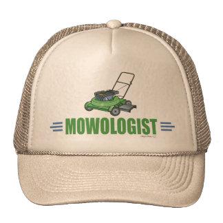 Humorous Lawn Mowing Mesh Hats