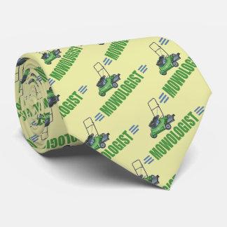 Humorous Lawn Mowing Tie