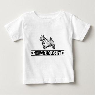 Humorous Norwich Terrier Baby T-Shirt