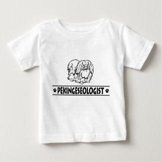 Humorous Pekingese Baby T-Shirt
