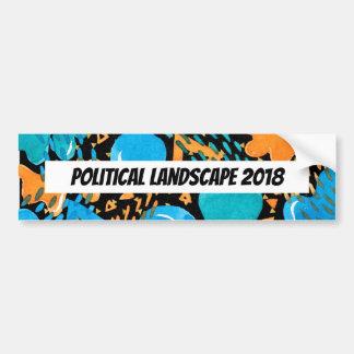 Humorous Political Landscape 2018 Bumper Sticker